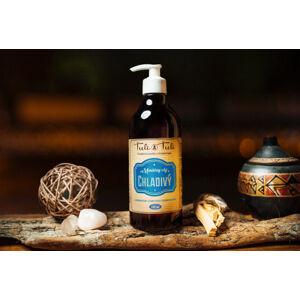 Masážní olej chladivý, s třezalkovým olejem 500ml S třezalkovým olejem