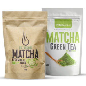 Matcha zelený čaj prášek 100g BIO/Organic