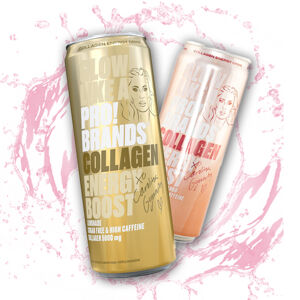 PRO!BRANDS – Collagen Energy drink 330ml Limonáda 330ml Limonáda
