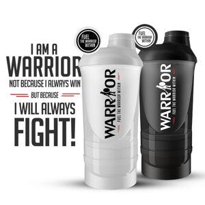 Smart Šejkr Warrior vícedílný 600ml + 350ml 600ml + 350ml Černá 600ml + 350ml Černá