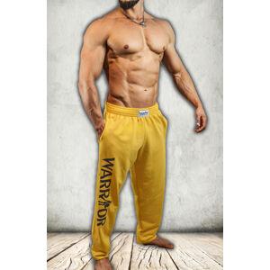 Tepláky Warrior žluté M Žlutá M Žlutá