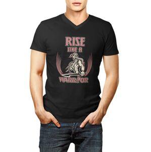 Tričko Rise like a Warrior barevné M M