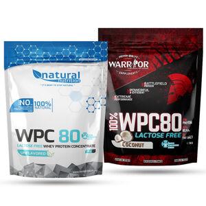 WPC 80 Lactose Free - syrovátkový protein bez laktózy 1kg Bez příchutě 1kg Bez příchutě
