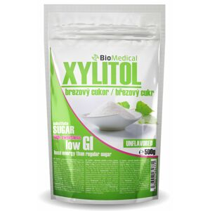 Xylitol - březový cukr Natural 500g