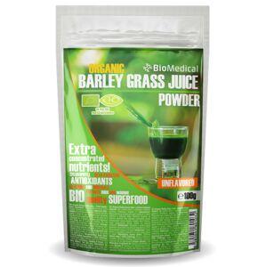 BIO Zelený ječmeň - sušená šťáva Natural 100g